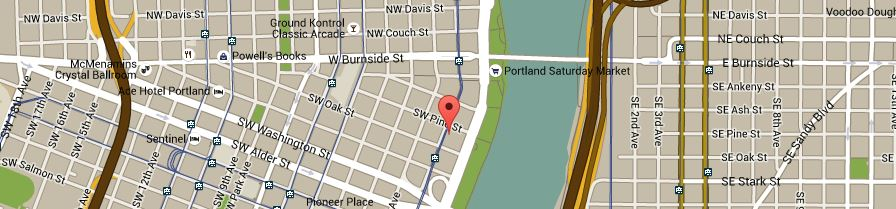 Portland on Google Maps